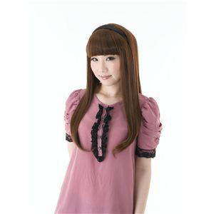 カチューシャ前髪 KT-1 ブラウン(耐熱)