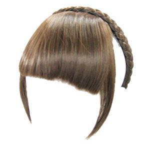 カチューシャ前髪 KT-4 ナチュラルブラウン(耐熱)
