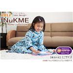 NuKME(ヌックミィ) 2012年Ver ミニ丈(85cm) スノー柄/ダークブラウン