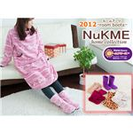 NuKME(ヌックミィ) 2012年Ver ルームシューズ Lサイズ ノルディックカラー アイボリー