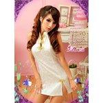 セクシー☆ホワイトチャイナドレス/コスプレ/コスチューム/コスプレ衣装/衣装/ z673