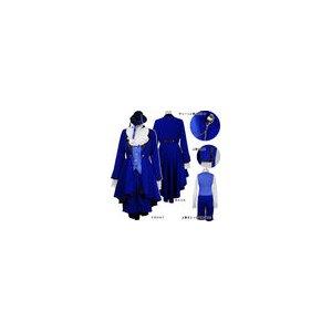 黒執事 シエル夜会服セット 【キャラクター/コスプレ/コスチューム/衣装】01000501 Lサイズ