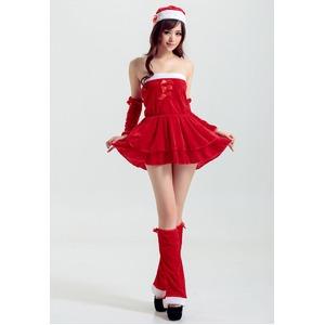 5551【クリスマス/サンタクロース/コスプレ/コスチューム/イベント/パーティ/仮装/衣装】