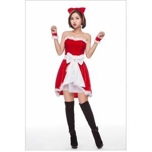 クリスマス サンタJ1522【クリスマス/コスプレ/コスチューム/イベント/パーティ/仮装/衣装】