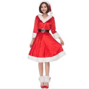 クリスマス サンタJ051L【クリスマス/コスプレ/コスチューム/イベント/パーティ/仮装/衣装】