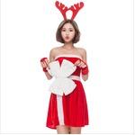 クリスマス サンタ トナカイJ1524【クリスマス/コスプレ/コスチューム/イベント/パーティ/仮装/衣装】
