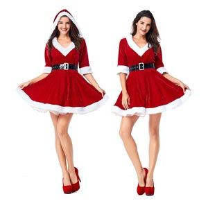 大きいサイズ クリスマス サンタJ1303L レッド【クリスマス/サンタクロース/コスプレ/コスチューム/イベント/パーティ/仮装/衣装】