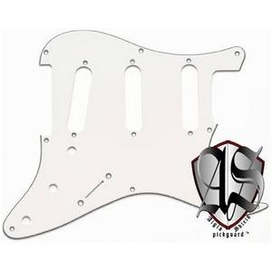GP Factory(GPファクトリー) ストラトキャスター用ノイズ低減ピックガード 57年式8穴タイプ ホワイト3プライ