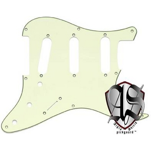 GP Factory(GPファクトリー) ストラトキャスター用ノイズ低減ピックガード 57年式8穴タイプ ミントグリーン3プライ