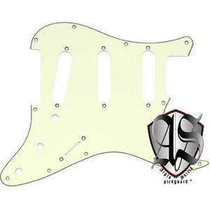 GP Factory(GPファクトリー) ストラトキャスター用ノイズ低減ピックガード 62年式11穴タイプ ミントグリーン3プライ