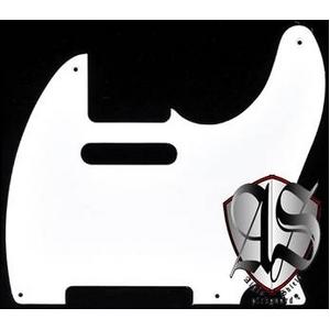 GP Factory(GPファクトリー) テレキャスター用ノイズ低減ピックガード 52年式5穴タイプ ホワイト1P