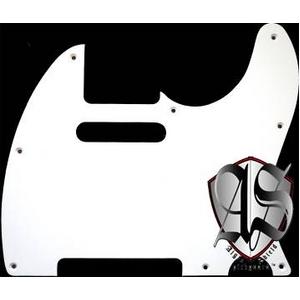 GP Factory(GPファクトリー) テレキャスター用ノイズ低減ピックガード 62年式8穴タイプ ホワイト1P
