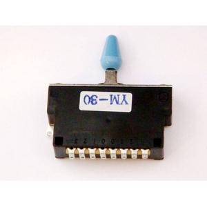 GP Factory(GPファクトリー) 3WAYレバースイッチ クローズ ブルーボタン (エレキギターパーツ)