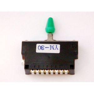 GP Factory(GPファクトリー) 3WAYレバースイッチ クローズ ミントグリーンボタン (エレキギターパーツ)