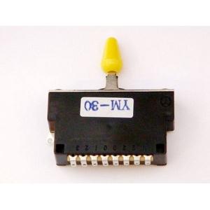 GP Factory(GPファクトリー) 3WAYレバースイッチ クローズ イエローボタン (エレキギターパーツ)