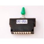 GP Factory(GPファクトリー) 5WAYレバースイッチ クローズ グリーンボタン (エレキギターパーツ)