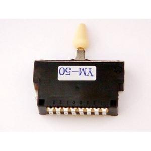 GP Factory(GPファクトリー) 5WAYレバースイッチ クローズ アイボリーボタン (エレキギターパーツ)