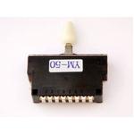 GP Factory(GPファクトリー) 5WAYレバースイッチ クローズ ミントグリーンボタン (エレキギターパーツ)