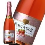 【スパークリングワイン】 ポンパドール Pompa Do'r ストロベリー 750ml スパークリングワイン
