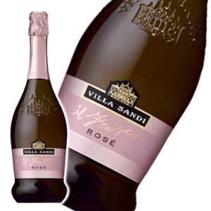 【スパークリングワイン】 ヴィッラ サンディ ロザードブリュット 750ml  ロゼ