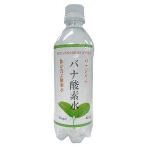 バ ナ ジ ウ ム 酸素水 500ml×24本/箱