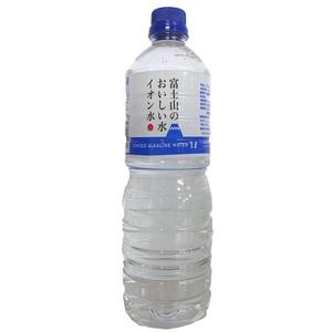 富士山のおいしい水イオン水 1,000ml×15本/箱 【5年保存・防災備蓄可】
