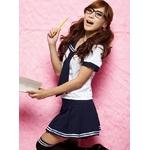 コスプレ 2011新作 女子学生制服のコスチューム(3点入り) E046