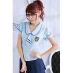 コスプレ 2011新作 女子学生制服のコスチューム(2点入り) E067