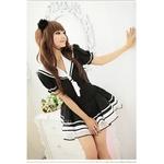 コスプレ 2011新作 【ハロウィン】 女子学生制服のコスチューム(2点入り) CS6086