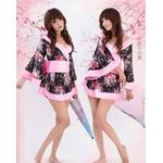 コスプレ 2011新作 【ハロウィン】 着物のコスチューム(2点入り) CSE060