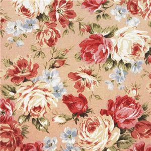 超軽量極薄敷布団ルナエアー ダブル 花柄ピンク