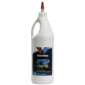 Valvoline(バルボリン) エンジンオイル HP GEAR GL-5 75W-90 1QT×12本