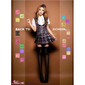 セーラー服 制服 女子高生 長袖 赤 紺 チェック z1171 コスプレ 衣装 コスチューム