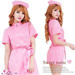 コスプレ コスチューム ナース ナース服 看護婦 ピンク