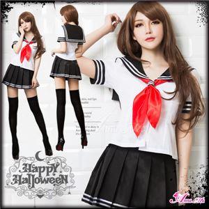 コスプレ コスチューム 女子高制服 制服 学生服 セーラー服 z1932 Lサイズ