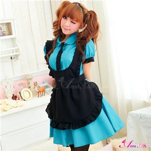 コスプレ ランジェリー コスチューム メイド服 メイド衣装 メイドコスチューム C311ブルー