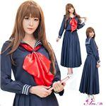 コスプレ ランジェリー コスチューム 女子高制服 制服 学生服 セーラー服 z2170 z2173 紺