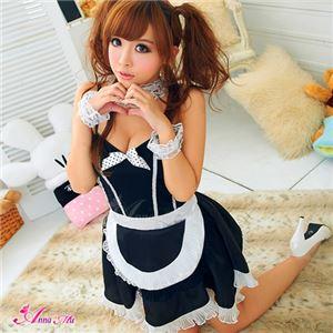 コスプレ ランジェリー メイド服 コスプレ コスチューム メイド 衣装 z985 黒