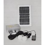 ソーラー充電器 LED電球2個セット YG-SLK-E1