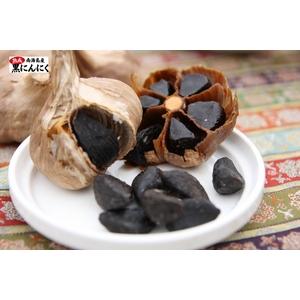 とっても甘くて食べやすい♪ 本場韓国【南海島】の熟成黒にんにく (大玉 200g入り)