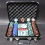 フォースポット・ポーカーセット200 -ブラックシールド(チップセット)