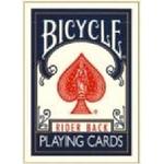 BICYCLE(バイスクル) トランプ ライダーバック ポーカーサイズ 【ブルー】
