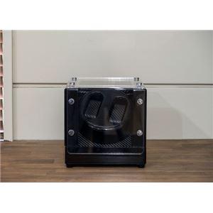 時計収納ワインディングマシーン 2本巻 BK ブラック