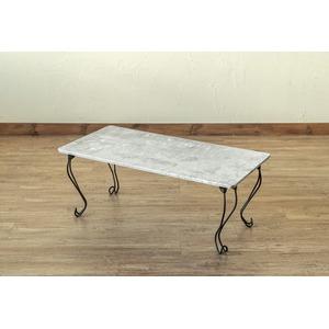 モダン折れ脚テーブル角型 LGR(ライトグレー)