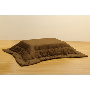 綿入りこたつ布団190×240cm ブラウン(BR)