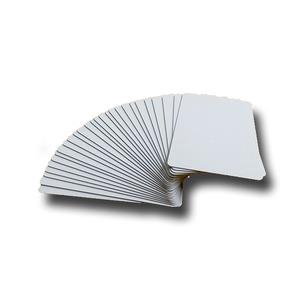 無地プラスチックカード 100枚セット0.5mm【日本製】