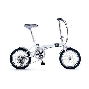 折畳自転車 CHEVROLET(シボレー) FDB16WH 6段ギア付