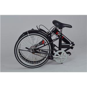 ゼロワン 20インチ 折り畳み自転車 ブラック MG-ZRE20