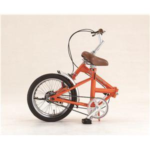 FIELD CHAMP(フィールドチャンプ) ベーシック FDB16 16インチ折り畳み自転車 オレンジ No.72935