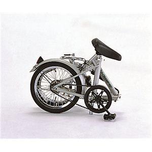 FIELD CHAMP(フィールドチャンプ) フォールディングサイクル16 16インチ 折り畳み自転車 シルバー No.72750